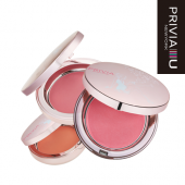 "Печеные румяна ""Privia Aura Cheek Blusher P0.03 (Peach Orange)"""