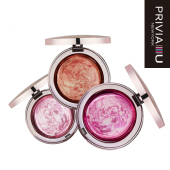 "Печеные румяна ""Privia Illusion Glittering Blusher P0.03"""
